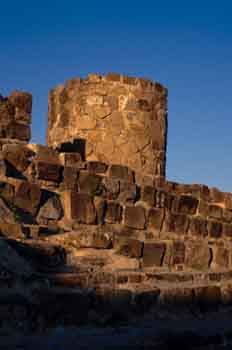 Ruinas del conjunto arque